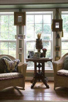 Living room detail - home decor: Experience the Butterfly Effect - www.butterflycreekinntryon.com