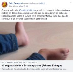 Pato Pereyra Blog, Early Childhood, Reading, Art, Blogging