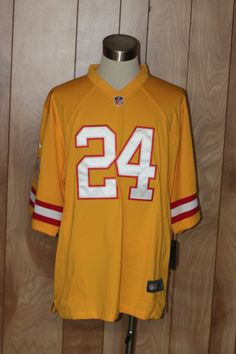 f0a8905ff MEN S NIKE TAMPA BAY BUCCANEERS THROWBACK FOOTBALL JERSEY-SIZE  XXL