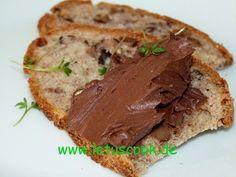 Frischkäse-Kakao Brotaufstrich - კრემყველის და კაკაოს მუსი - let us cook