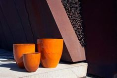 Gallery of Atomic Glazed Pots in various landscapes. Bold Colors, Colours, Pots, Indoor, Gallery, How To Make, Inspiration, Interior, Biblical Inspiration