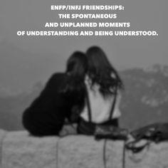#enfp #infj my sis & i