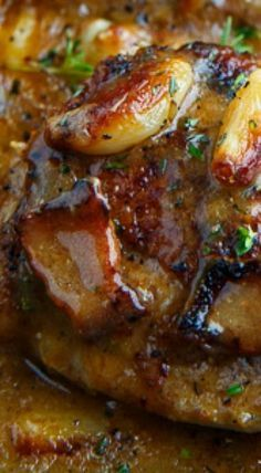 Rustic Roasted Garlic Chicken with Asiago Gravy « recipes Turkey Dishes, Turkey Recipes, Meat Recipes, Cooking Recipes, Healthy Recipes, Game Recipes, Pizza Recipes, Healthy Food, Garlic Chicken