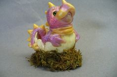 PDF tutorial dragon hatchling por trolltracks en Etsy, $4.00