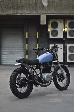 Yamaha SR250.  Okay, so it's more of a dirtbike... But it's really rather cool.