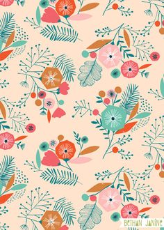 Tropical floral by Bethan Janine