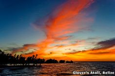 Sunsets Included - Glover's Atoll, Belize