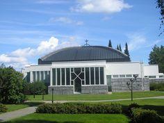 Lieksa Church in Lieksa, Finland