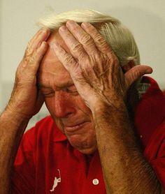 Arnie at 80 - Arnold Palmer's farewell to Augusta. So sad.