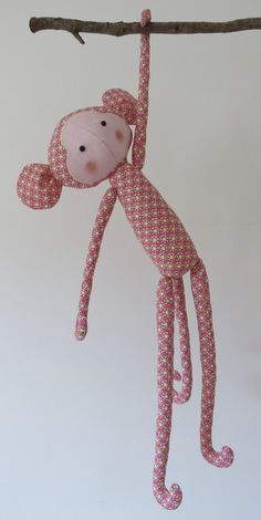 GALINDAINES // mona mico Tilda / mono Tilda / monkey Tilda // Tilda's Toy Box