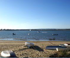 Playa de El Cantil en Isla Cristina (Huelva)