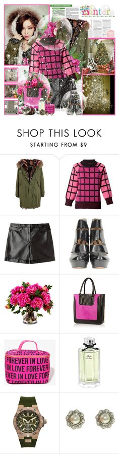 """""""Let it snow....."""" by purplecherryblossom ❤ liked on Polyvore featuring Victoria Beckham, LOTTA, Mr & Mrs Italy, Clements Ribeiro, Alexander Wang, Rachel Zoe, New Growth Designs, River Island, Forever 21 and Gucci"""