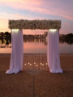 New wedding ceremony decorations altars chuppah ideas Wedding Ceremony Backdrop, Ceremony Arch, Wedding Venues, Beach Ceremony, Wedding Ideas, Beach Wedding Decorations, Ceremony Decorations, Trendy Wedding, Dream Wedding