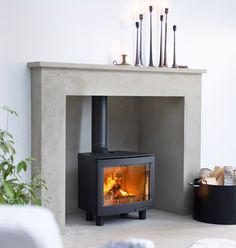 Part of a range of freestanding and inset stoves with a large landscape window showing a large flame picture. - Part of a range of freestanding and inset stoves with a large landscape window showing a large flame picture. Wood, Wood Burning Logs, Living Room With Fireplace, Wood Burning Stoves Living Room, Fireplace, Wood Burning Fireplace Inserts, Burley Stove