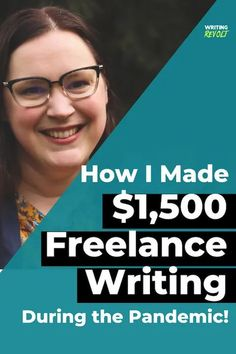 How I Made $1,500 #Freelance #Writing During a Pandemic! // Writing Revolt -- #workfromhome Make Money Writing, Writing About Yourself, Make Money Blogging, How To Make Money, Blog Writing, Writing A Book, Writing Tips, Writing Portfolio, Write Online