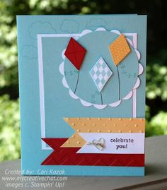 Celebrate You by papertrail - Cards and Paper Crafts at Splitcoaststampers