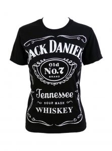 "Tee-shirt femme Jack Daniel's ""Classic Logo"""