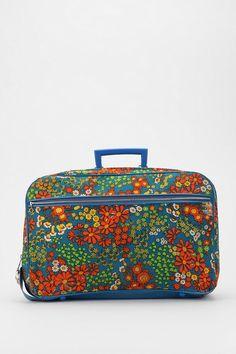 Urban Renewal Vintage Floral Suitcase   #UrbanOutfitters