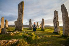 What is this place? - Lilie Morhiril as Merida, from Disney's Brave Callanish Standing Stones, May 2014