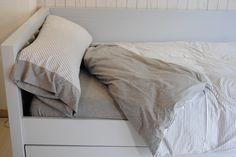 Conjunto de funda nordica de algodón de camiseta, ecológico. Ideal para pieles con problemas. Todas la medidas de cama. shop.moblesperpinya.cat