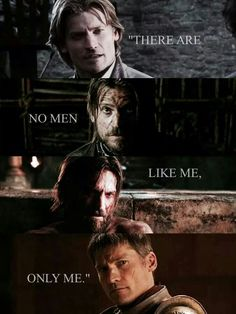 I feel liking him is wrong but there is something about Jamie Lannister