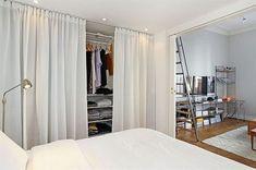 Una tenda per dividere | Curtains as dividers