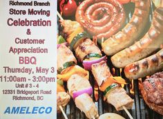 #Mark your #Calendar for #2018 #Customer #Appreciation #Celebration #BBQ in #Vancouver Junction Boxes, Customer Appreciation, Smoke Alarms, Special Events, Vancouver, Bbq, Celebration, Calendar, Fans