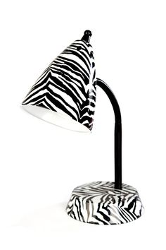 zebra lamp from Gordmans
