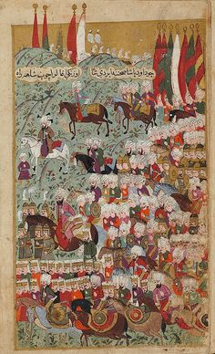 Seyyid Lokman-Mehmed III Arrives at the Head of the Victorious Army at Davudpasha, a Suburb of Istanbul