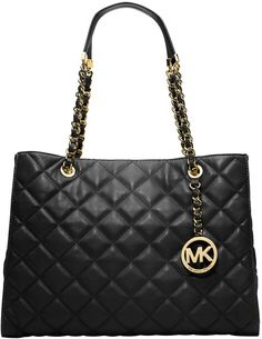 a35e40f510e4 michael kors susannah quilted leather tote bag - Google zoeken Michael Kors  Tote Bags, Michael