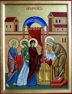 Presentation of Jesus in the Temple by Shota Tsintsadze Tamuna Javaxishvili of Georgia