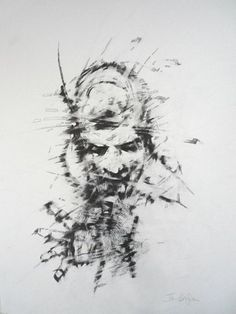 """Shatter"" by Ian Hodgson. Original Artwork: Graphite on paper, just 10 instalments of £69.50 per month with #OwnArt"