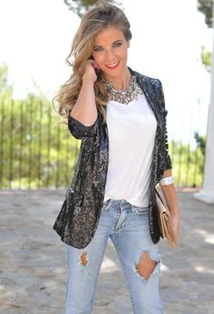 18 Stylish Outfits with Statement Necklaces for Spring and Summer Days