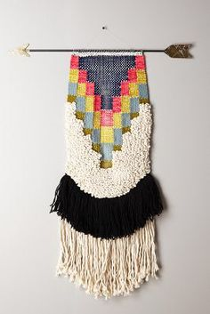 Handwoven Arrow Tapestry, Medium #Anthropologie