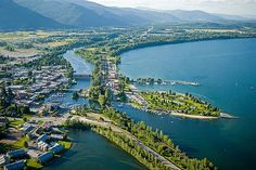 Sandpoint, Idaho = Vacay @ the in-laws beautiful home.  Cannot wait to relax!