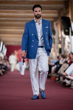 male fashion show | ... Ricci Spring Summer Men's Collection 2013 - Uffizi Fashion Show