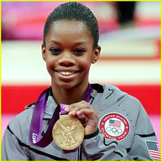 #Gabrielle #Douglas, the first #African-#American #gymnastics #gold #medalist and American #Hero!