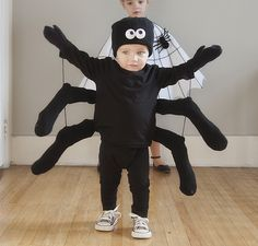 Homemade Halloween Costumes For Kids - Rock My Family blog | UK baby, pregnancy and family blog - Spider #halloweenpartysupplies