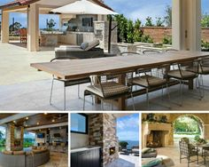 In order to maximize the impact of your home's design, consider ways that you can seamlessly blend your indoor and outdoor spaces.   You'll spend more time outdoors and enjoy your home even more.