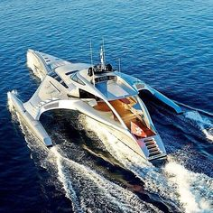 The Adastra Yacht. Where the heck am I gonna dock this thing mate? Jet Ski, Private Yacht, Private Jet, Yacht Boat, Pontoon Boat, Yacht Design, Boat Design, Ski Nautique, Yacht Party