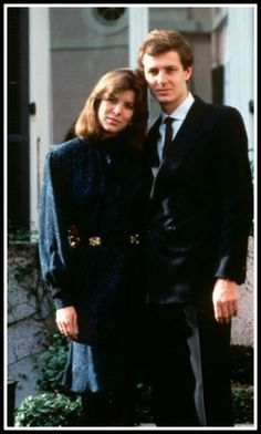 Caroline and second husband, Stefano