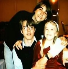 David with Alexander (his brother) & Elena (his sister)