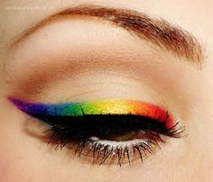 Rainbow! So cool!