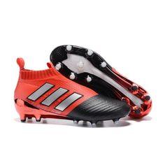 new concept caf6c 1112a Adidas ACE 17 PureControl FG красный черный белый футбольные бутсы для игры  на твердом грунте. NikeFootball ...