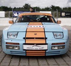 Porsche 944 S2 in Gulf livery