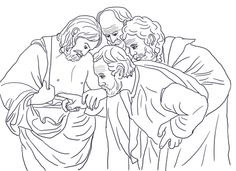 flight into egypt coloring pages - photo#33