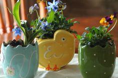 Easter Table Decor - The Findleberry Gardener