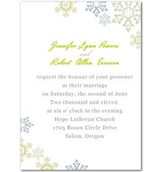 For a timeless and memorable wedding,simple yet elegant white wedding invitations and black and white wedding invitations adorned with exquisitely falling petals,royal art deco or vintage scrolls at InvitesWeddings should be a favorable choice. Winter Wedding Invitations, Snow Flake, Lutheran, Marriage, The Incredibles, Winter Snow, Invites, Ideas, Valentines Day Weddings