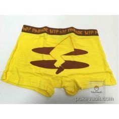 Pokemon Center 2015 Hip Hop Parade Campaign Pikachu Underwear (Mens)
