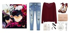 """""""Untitled #283"""" by bojana-687 ❤ liked on Polyvore featuring moda, Zara, Chanel, Bling Jewelry, Bobbi Brown Cosmetics, Calvin Klein, Jack Wills, red, Heels y bag"""
